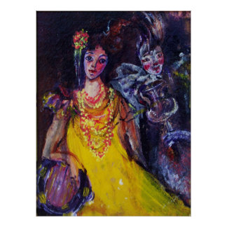 GYPSY LADY MUSIC BAND POSTER