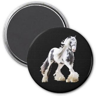 Gypsy Mare Stallion Draft Horse Magnet