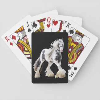 Gypsy Mare Stallion Draft Horse Playing Cards