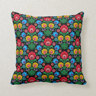 Gypsy Midnight Floral Accent Pillow