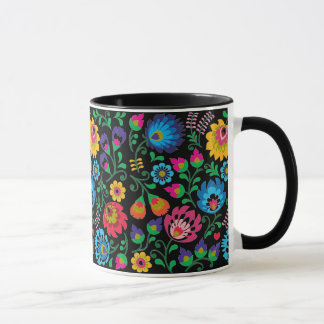 Gypsy Midnight Floral Combo Mug
