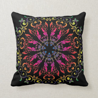 Gypsy Midnight Square Accent Pillow