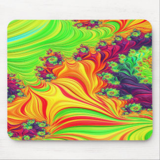 Gypsy Moire Fractal 2 Mouse Pad