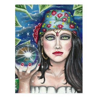 Gypsy Original Artwork Postcard
