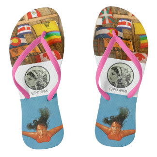 Gypsy Ships - The Traveler Flops Thongs