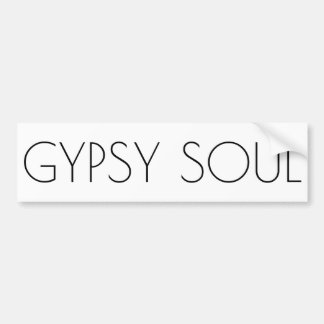 Gypsy Soul Bumper Sticker