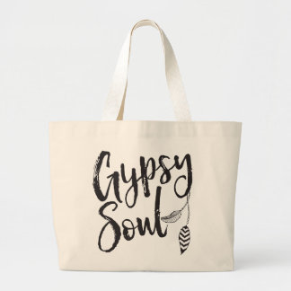 Gypsy Soul Large Tote Bag