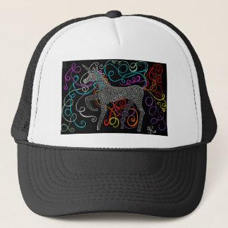 Gypsy the magic unicorn complete trucker hat
