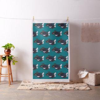 Gypsy Vanner Draft Horse Print Fabric