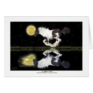 Gypsy Vanner Horse fantasy Greeting-cards Card