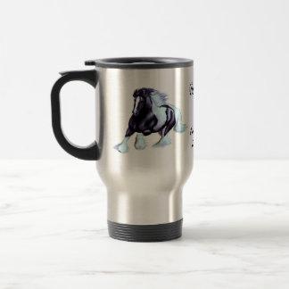 Gypsy Vanner, Irish horse Travel Mug