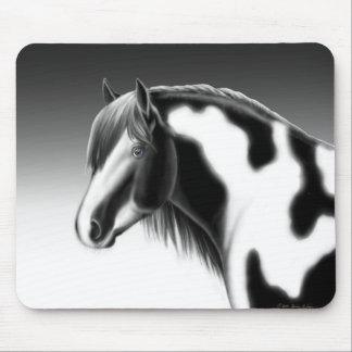 Gypsy Vanner Pinto Horse Mousepad