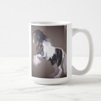 gypsy vanner stallion mug / gypsy cob mug