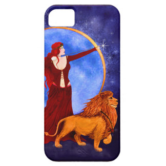 Gypsy Witch Fantasy Goddess Art Nouveau iPhone 5 Covers