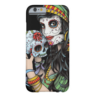 Gypsy Woman Day of the Dead Barely There iPhone 6 Case