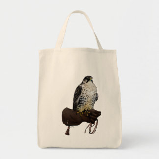 Gyrfalcon on Glove Tote Bag