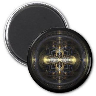 Gyro 6 Cm Round Magnet