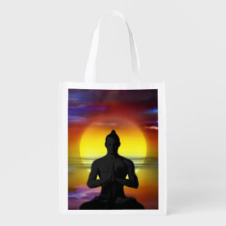 H002 Moon Man Reusable Grocery Bag