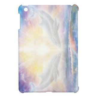 H006 Dolphins Heart iPad Mini Cases