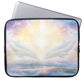 H006 Dolphins Heart Laptop Sleeve