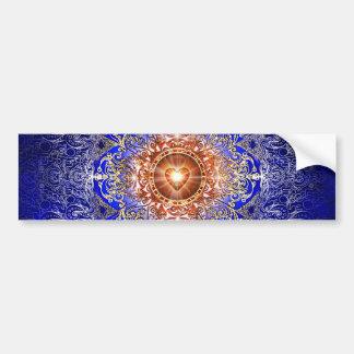 H011 Heart Constellation Bumper Sticker