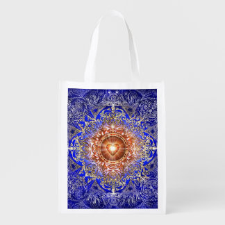H011 Heart Constellation Reusable Grocery Bag