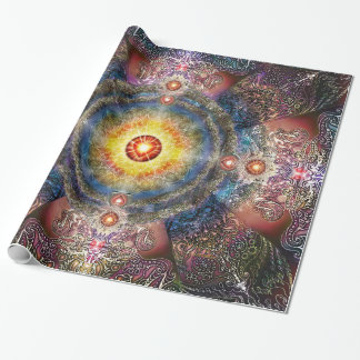 H012 Heart Mandala 2 Wrapping Paper