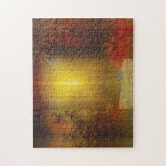 H017 Zen Screen Rust Jigsaw Puzzle