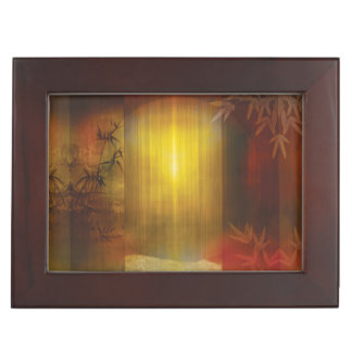 H017 Zen Screen Rust Keepsake Box
