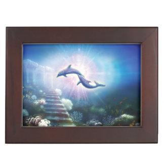 H019 Nori Dolphins Keepsake Box
