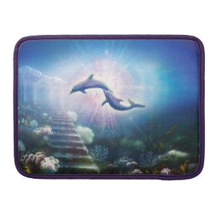 H019 Nori Dolphins MacBook Pro Sleeve