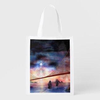 H024 Bridge to Truth Reusable Grocery Bag