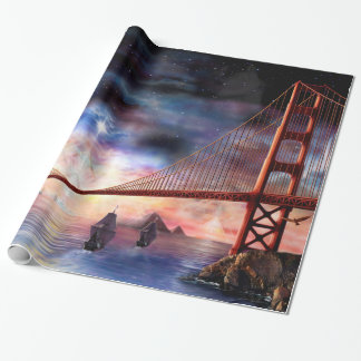 H024 Bridge to Truth Wrapping Paper