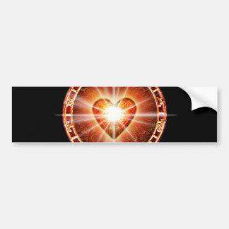 H025 Heart Logo Bumper Sticker