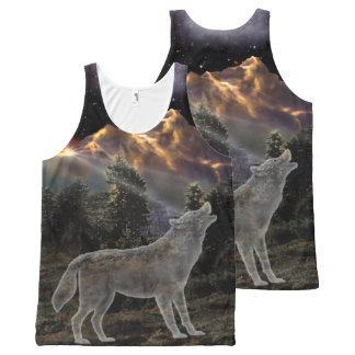 H029 Star Wolf All-Over Print Singlet
