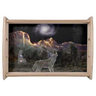 H029 Star Wolf Serving Tray