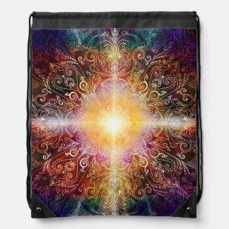 H032 Mandala 2012-5 Drawstring Bag