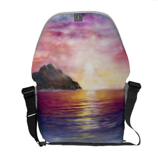 H037 Scorpio Sunset Courier Bag