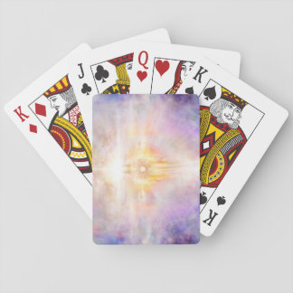 H041 Jesus Heart Playing Cards