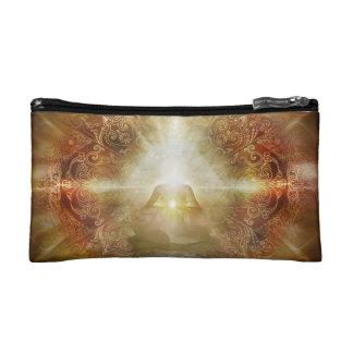 H048 Meditator Brown Cosmetic Bag