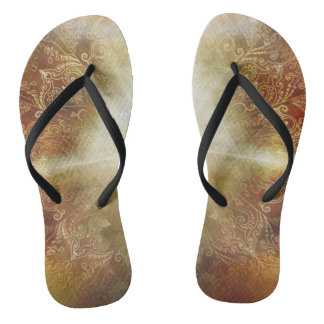 H048 Meditator Brown Thongs