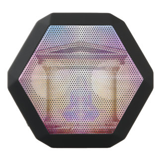 H049 Know Thy Self Magenta Black Bluetooth Speaker