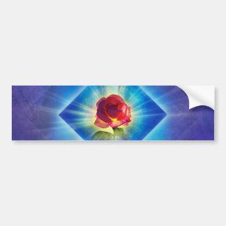H053 Forgiveness Day Rose Bumper Sticker