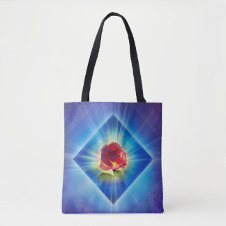 H053 Forgiveness Day Rose Tote Bag
