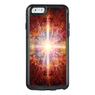 H069 Mandala Deep Orange 2 OtterBox iPhone 6/6s Case