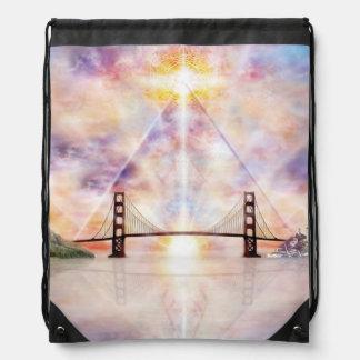 H073 New Horizon Drawstring Bag