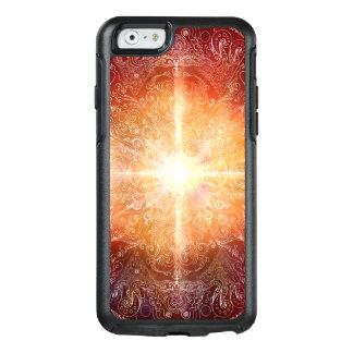 H074 Mandala Orange Bright OtterBox iPhone 6/6s Case