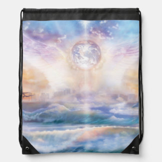 H079 Enchanted Wings Drawstring Bag