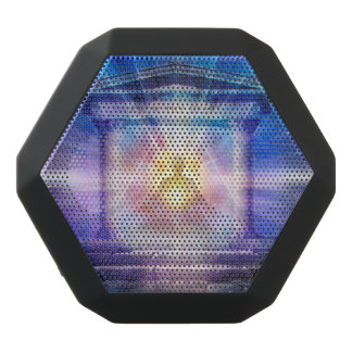 H110 Know Thy Heart Temple Night Black Bluetooth Speaker