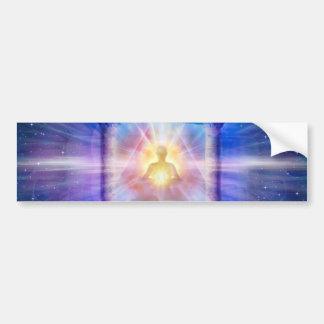 H110 Know Thy Heart Temple Night Bumper Sticker